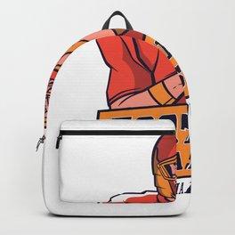 Halloweens Football best gift Backpack