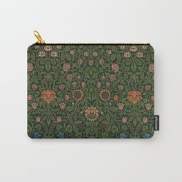 Violet and Columbine - William Morris Carry-All Pouch