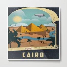 Vintage poster - Cairo Metal Print