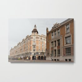 Les Arcades I Tourcoing-Lille, France I Street photography Metal Print