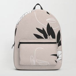 Two Faces Floral Backpack