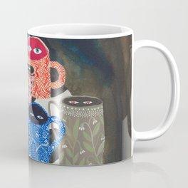 Suspicious mugs Coffee Mug
