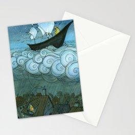 Sky Sailing Stationery Cards
