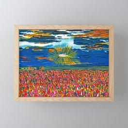 Light in My Art Framed Mini Art Print