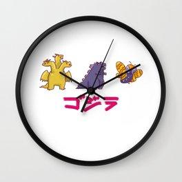 Godzilla And Friends Wall Clock
