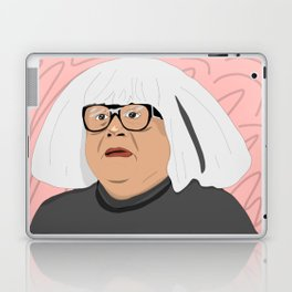 frank as an art collector Laptop & iPad Skin