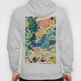 Landscape at Collioure - Henri Matisse - Exhibition Poster Hoody