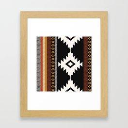 Pueblo in Sienna Framed Art Print