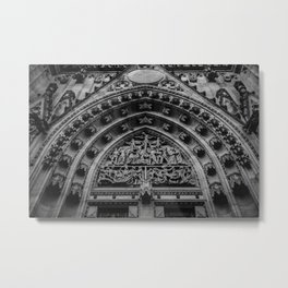 looking up at st. vitus Metal Print