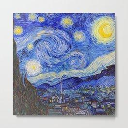 "Vincent van Gogh "" Starry Night "" Metal Print"
