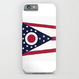 Ohio State Flag iPhone Case