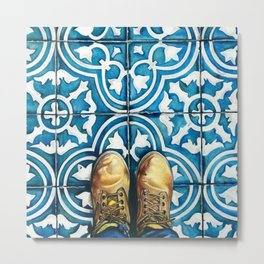 Art Beneath Our Feet - Mexico City Metal Print