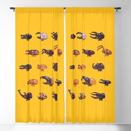 Rhino and Stag Blackout Curtain