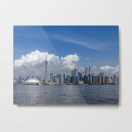 Toronto Ontario cityscape Metal Print