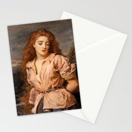 The Martyr of the Solway by John Everett Millais, 1871 Stationery Cards