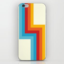 Bahlam - Classic Retro Summer Style Stripes iPhone Skin