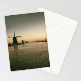 Sunrise at Kinderdijk IV Stationery Cards