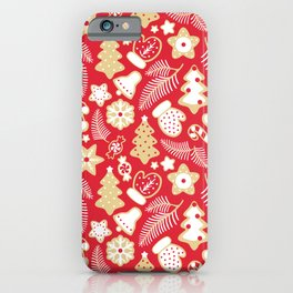 Merry Christmas! Happy new year! iPhone Case