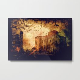 Enchanted Castle Metal Print