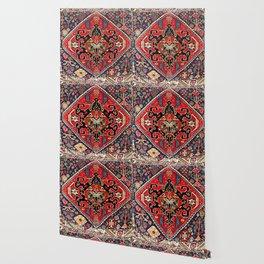 Qashqa'i Antique Fars Persian Bag Face Print Wallpaper