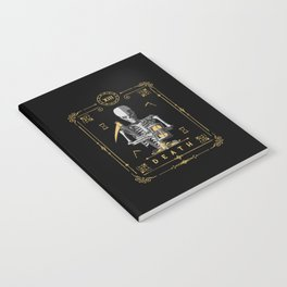 Death XIII Tarot Card Notebook