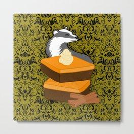 Loyalty Pumpkin Brownies Metal Print