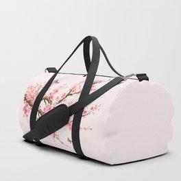 Pink Cherry Blossom Dream Duffle Bag