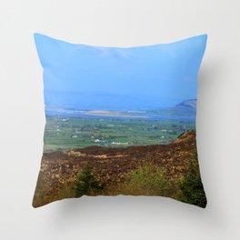 Ladies Brae Mountains Throw Pillow