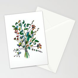 Bouquet of Sprigs Stationery Cards