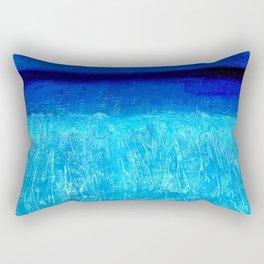 Blue Serenity Rectangular Pillow