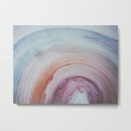 rainbow spectrum watercolor Metal Print