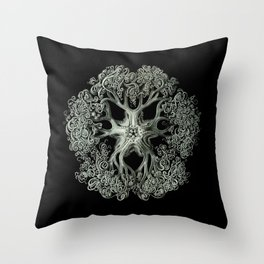 Ernst Haeckel - Ophiodea Gorgonocephalidae Throw Pillow
