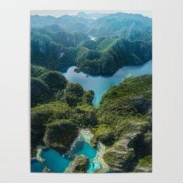 Coron Island, Philippines Poster