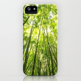 Maui Bamboo Forest iPhone Case