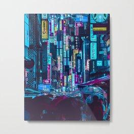 Myeongdong Lights Metal Print