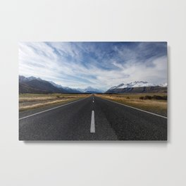 Mountain Road Metal Print