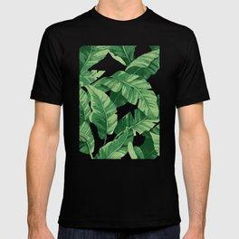 Tropical banana leaves IV T-shirt
