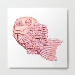 Taiyaki (Sakura) Metal Print