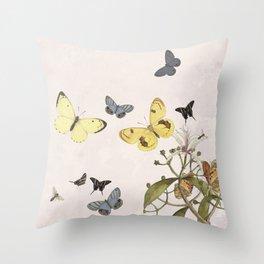 Let us dance in the sun- butterflies  Throw Pillow