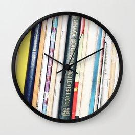 Books 2 Wall Clock