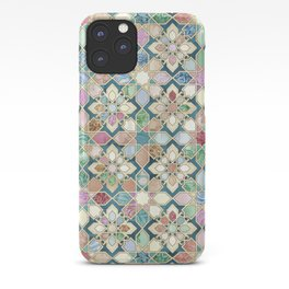 Muted Moroccan Mosaic Tiles iPhone Case