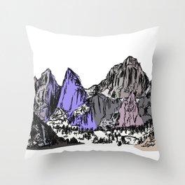 Mt Whitney Throw Pillow