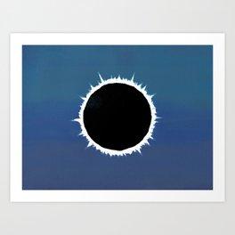 Total Solar Eclipse - Painting Art Print