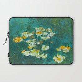 Serene Lotus Pond Laptop Sleeve