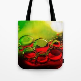 Bubble Art Multi Colored Illustration Tote Bag