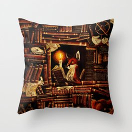 Media Overkill Throw Pillow