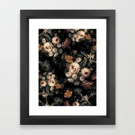 Midnight Garden XIV Framed Art Print