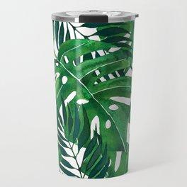 Jungle leaves Travel Mug