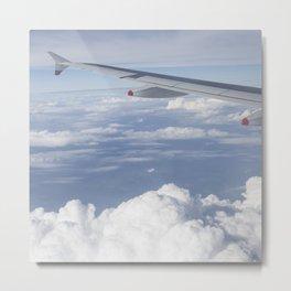 Cumulonimbus Clouds Over Europe Metal Print