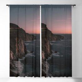 Big Sur Sunset Blackout Curtain